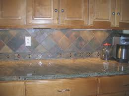 Slate Backsplash Pictures And Design by Backsplash Best Slate Backsplash In Kitchen Home Design Ideas