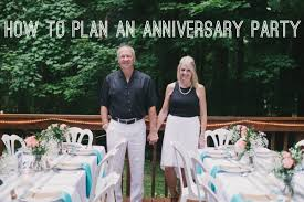 How To Plan Your Backyard How To Plan An Anniversary Party For Your Parents Stop Me If