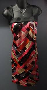 abstract pattern sleeveless dress romantics by free people double layered aztec w embroidery accents