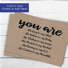 bridesmaid invitations will you be my of honor card or matron of honor or