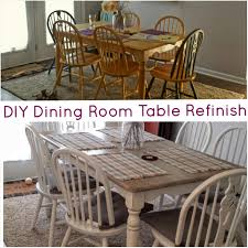 DIY Dining Room Table Refinish ThePomeroyLife - Refinish dining room table