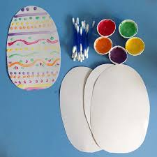 Edible Easter Egg Decorations by Q Tip Easter Egg Decorating Clare U0027s Little Tots