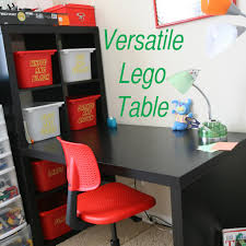 Kids Table And Chairs With Storage Awesome Versatile Lego Table Has Lego Storage And Place To Build