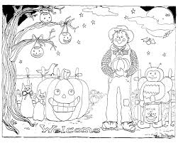 5 little pumpkins coloring page and eson me