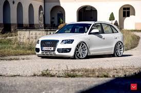 Audi Q5 White - vossen wheels audi q5 vossen cvt