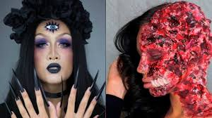 Diy Halloween Makeup by Top 5 Diy Halloween Makeup Tutorials Compilation 2017 Youtube