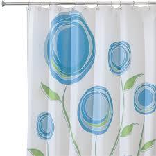 Blue And Green Shower Curtains Interdesign Ombre Shower Curtain Blue And Green Hayneedle