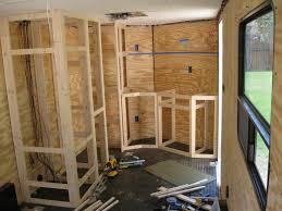 race car trailer cabinets enclosed trailer cabinets v nose best cabinets decoration