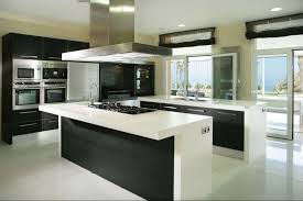 white kitchen with black island kitchen mesmerizing black and white kitchen design ideas with
