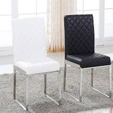 Steel Living Room Furniture New Fashion Leather Dining Chair Living Room Furniture 100