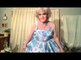 sissy prom dress in print taffeta youtube