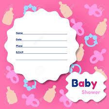 Card Invitations Baby Shower Cards Invitations Kawaiitheo Com