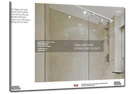 cab0uk14 crl cabo soft slide shower door system leaflet