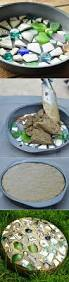 how to make stepping stones with a cake pan garden stepping