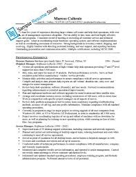 Canadian Resume Sample by Ontario Resume Free Resume Example And Writing Download