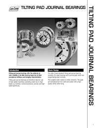 tilting pad bearings john crane pdf catalogue technical