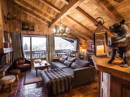 chalet style wooden chalet style apartment terracotta view on