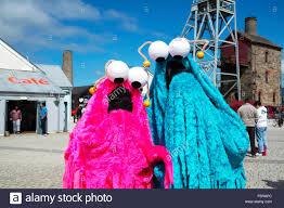yip yip aliens from sesame street tv programme at geekfest
