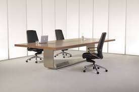 Contemporary Conference Table Ultra Contemporary New Steel Conference Table Ambience Doré