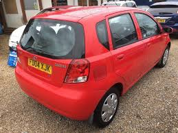 2004 daewoo kalos 1 2 xtra cool 5dr red one owner in fareham