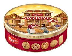 bauducco butter cookies tin 12 oz 1 tin
