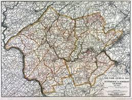 County Maps Historical Hunterdon County New Jersey Maps