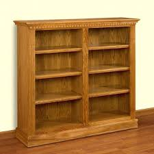 Unfinished Furniture Bookshelves by Shelves Back A Solid Pine Wide Low Bookcase Solid Pine Furniture