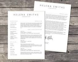 Templates Resume Word Creative Resume Template Resume For Word And Pages 1 2 U0026