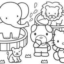 free printable kitty coloring pages az coloring pages kids