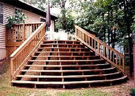 Back Porch Stairs Design Back Decks Designs Deck Stairs Design Ideas For Your Back Porch