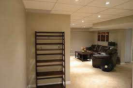 Cool Finished Basements Good Looking Low Basement Ceiling Options Unusual Best 10 Ceiling