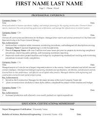 Mechanical Project Manager Resume Sample by Project Manager Resume Sample U0026 Template