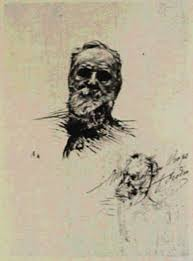 auguste rodin a sketch for victor hugo