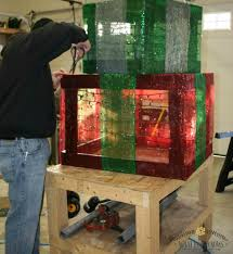 lighted christmas present boxes diy outdoor lighted gift boxes what knows christmas