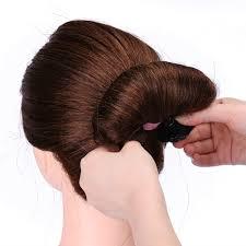 chignon maker 2 1pcs sponge hair styling donut bun maker magic former ring