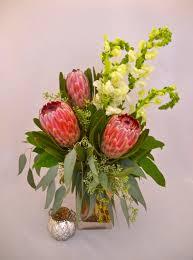 florist baton pink protea in baton la flower therapy florist