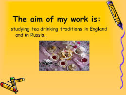 the tradition of tea in great britain and in russia