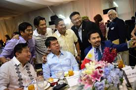 welcome speech for thanksgiving party in photos pdp laban celebrates victory as ruling party