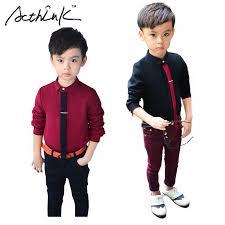 aliexpress com buy acthink boys formal solid cotton dress shirt
