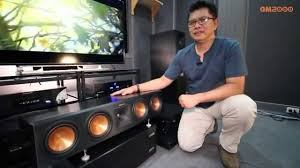 klipsch reference home theater system gm2000 review klipsch rp 280 reference premiere youtube