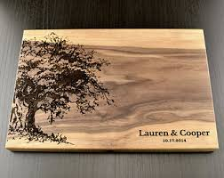 how to engrave a cutting board personalized cutting board etsy