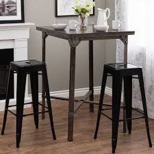 Bar Stool Sets Of 3 Tremendeous Tabouret 30 Inch Black Metal Bar Stools Set Of 2 Free