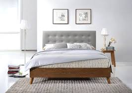 King Size Padded Headboard King Size Wood And Upholstered Headboards Leandrocortese Info