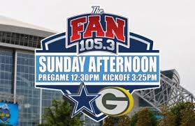 105 3 the fan listen live live blog green bay packers vs dallas cowboys cowboys football