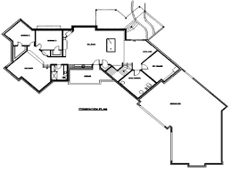 Angled House Plans Rambler Floor Plans With Angled Garage By Tjb Homes