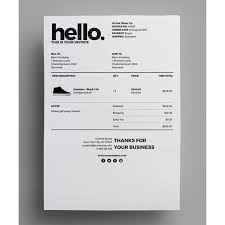 25 trending invoice layout ideas on pinterest graphic designer