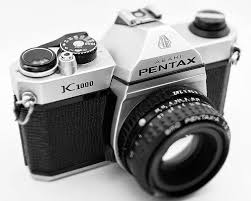 film camera light meter pentax k1000 1976 1997 uses 35mm film manual focus with built