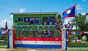 Belize Flag Flag Ramblin U0027 San