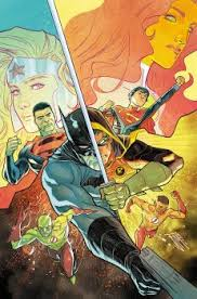 the return of conner kent in the super sons of tomorrow bleeding