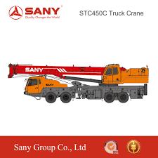 sany stc450c 40t truck crane mobile crane specification buy